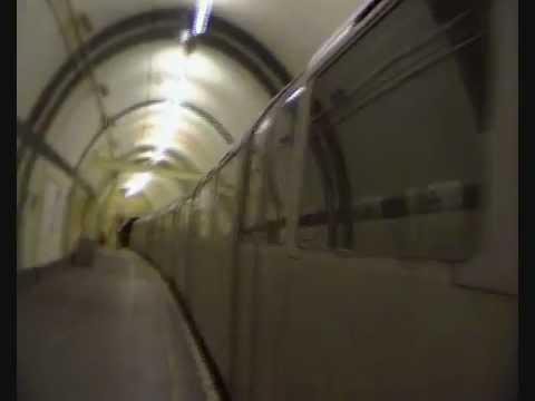 "Aldwych tube station ""Daleks & the Silurian train spotters"" + ghost train"