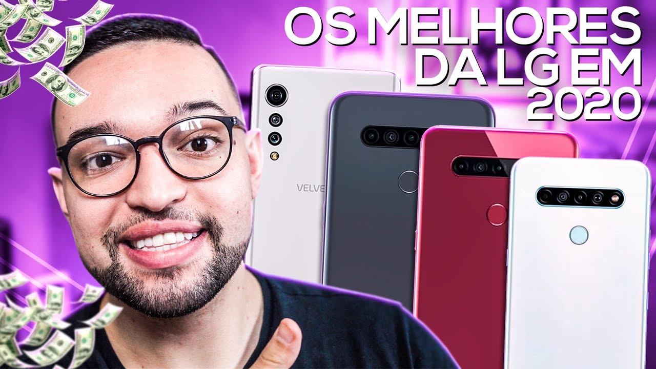 Os MELHORES SMARTPHONES da LG em 2020!