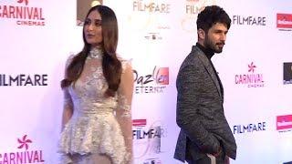 OOPs Shahid Kapoor & Kareena Kapoor's AWKWARD Moments At Filmfare Glamour & Style Awards 2017