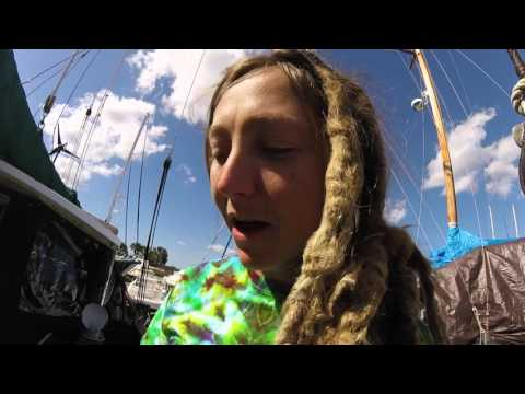 Tightening the Bowsprit - Sailing Vessel Norna Day 56