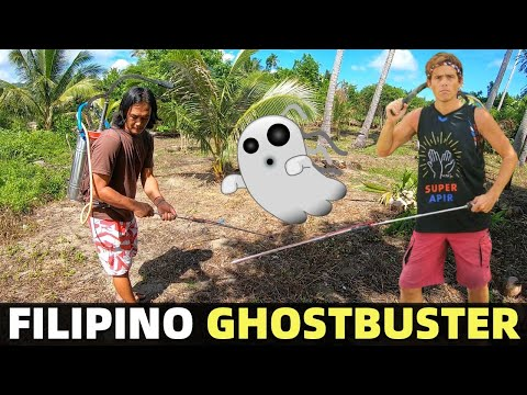 FILIPINO GHOSTBUSTER – Spraying Land In The Philippines! Good Or Bad? (Davao, Mindanao)