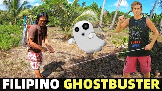 FILIPINO GHOSTBUSTER - Spraying Land In The Philippines! Good Or Bad? (Davao, Mindanao)