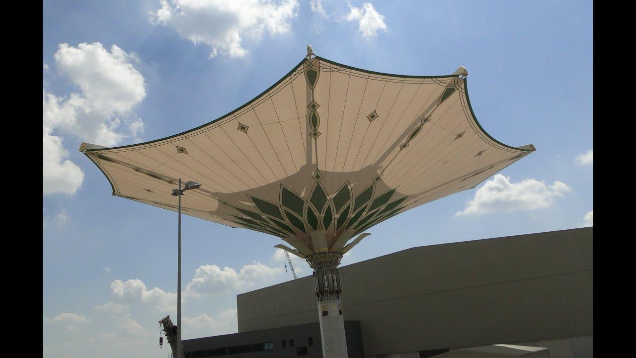 Liebherr 600 to sonnenschirm f r mekka umbrella for for Architecture upbrella