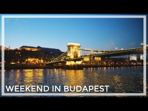 BUDAPEST, HUNGARY | Travel Vlog