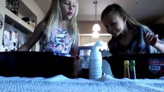 Slime Making With Glue Baking Soda