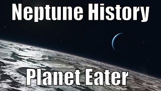 Neptune Once Swallowed a Planet And Stole Triton