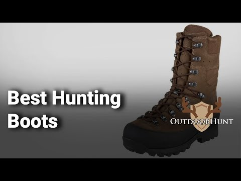 Best Hunting Boots: Complete List With Features & Details - 2019