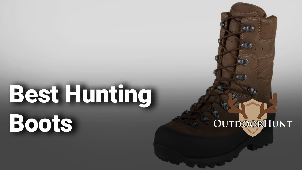 72278b57cca The Best Hunting Boots for 2019 - Reviews & Buyer's Guide