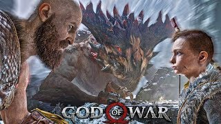 DRAGON SKRIMAH DRAGON FIFAH | GOD OF WAR GOD MODE #8