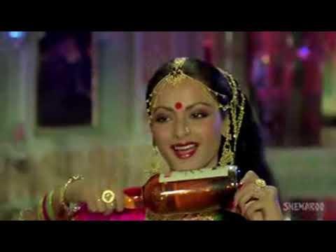 Aaj Imtehan Hai   Amitabh Bachchan   Rekha   Suhaag 1979 Songs   Lata Mangeshkar HIGH