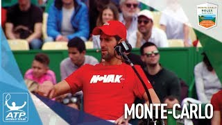 ATP World Tour Stars Join Celebrities In Charity Exhibition Monte-Carlo 2018
