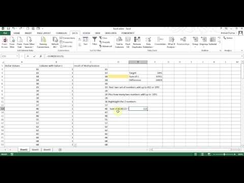 excel-solver---find-2-numbers-that-sum-to-a-value