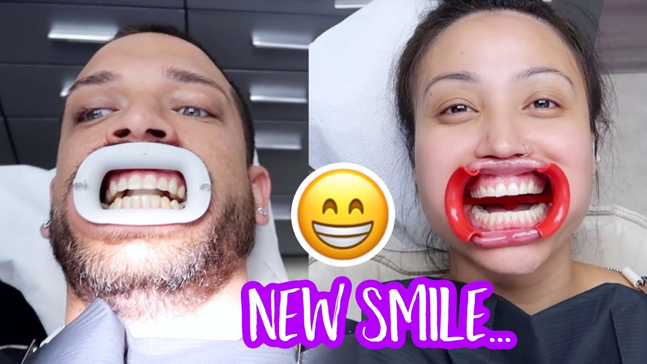 FINALLY FIXING OUR TEETH!! **new smile**