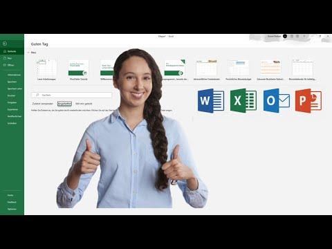 Excel 2016 Tutorial deutsch Grundlagen und Einführung