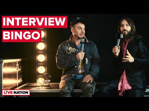 Thirty Seconds To Mars - Interview Bingo @ Rock am Ring 2018   Live Nation GSA