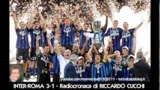 INTER-ROMA 3-1 - Radiocronaca di Riccardo Cucchi (Supercoppa Italiana 2010) da Radiouno RAI