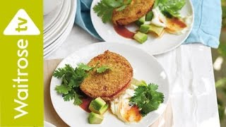 Crispy Fried Tomatoes with Chipotle Sauce | Waitrose