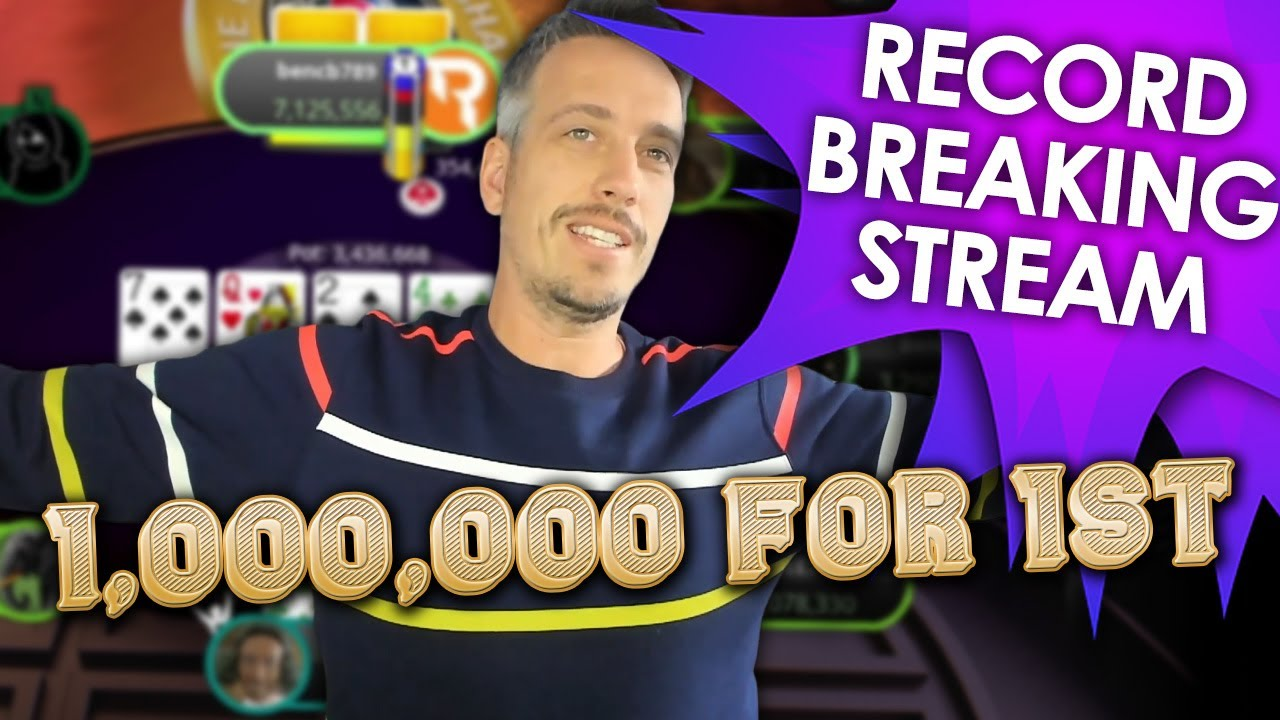 Twitch Poker WORLD RECORD in the $10.000 MAIN!!
