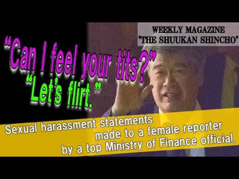 Sexual harassment by a top Ministry of Finance official.