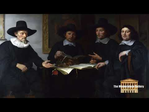 Gallery Paintings with Classical Music- Group Portrait HD