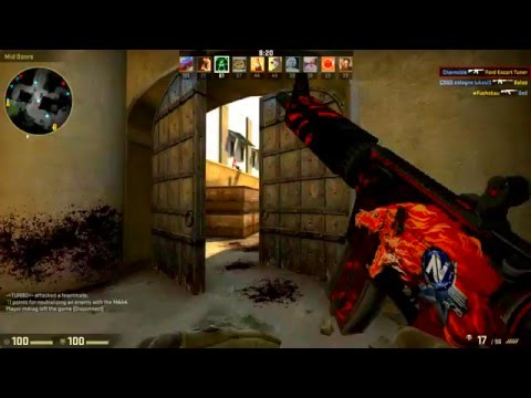 CS:GO Skin Showcase And Gameplay - M4A4 Howl (Field-Tested)