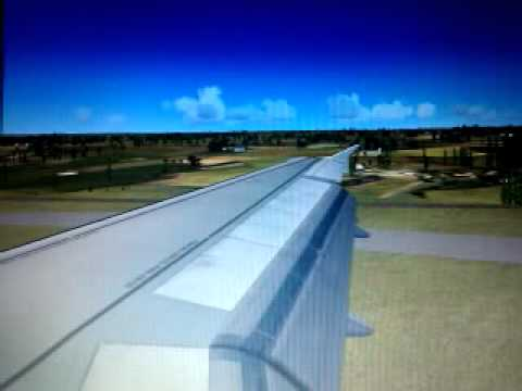 fsx Landing at Durham Tees Valley