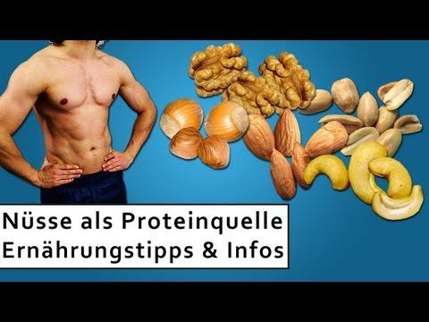 Nüsse als Proteinquelle für den Muskelaufbau! Wie wichtig sind ungesättigte Fettsäuren?