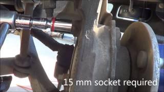 2004 Chevrolet Suburban Wheel Bearing Raplacement