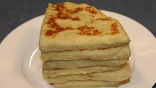 Simple and Easy Potato flat Bread/ Potato Scones