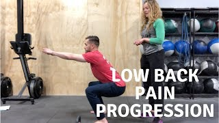 Low Back Pain Improving? Try these Rehab Progressions