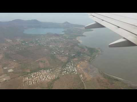 Landing in Managua 737 popin quant