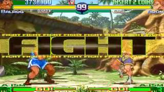 Street Fighter Alpha 3 ~ Balrog Playthrough 【TAS】