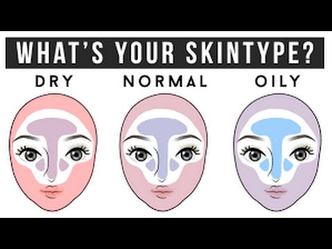 how to tell what skin type you are