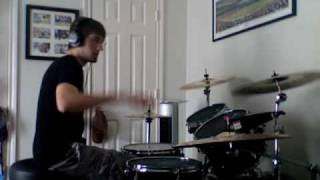 """Rock Rock(Till you Drop)"" Def Leppard Drum Cover"