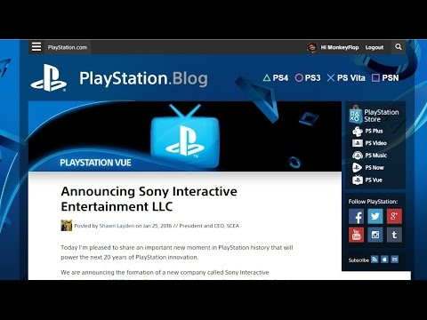 Announcing Sony Interactive Entertainment LLC SIE More Powerful PlayStation