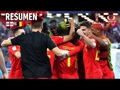 Bélgica se queda con el primer lugar | Inglaterra 0 -1 Bélgica |Mundial Rusia 2018