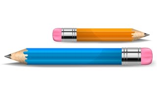 Pencil in Adobe illustrator / Как рисовать векторную графику / Уроки