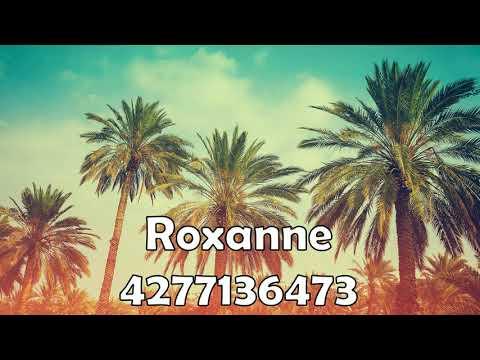 Roxanneroblox Id Roxanne4277136473 Id For Roxanne Full Song Roblox Song Id For Roxanne Roxanne Roblox Radio Id