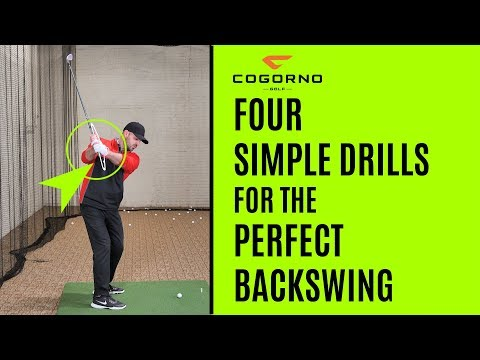 GOLF: Four Simple Drills For The Perfect Backswing