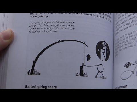 How To Build A Spring Snare (SAS Survival Handbook)
