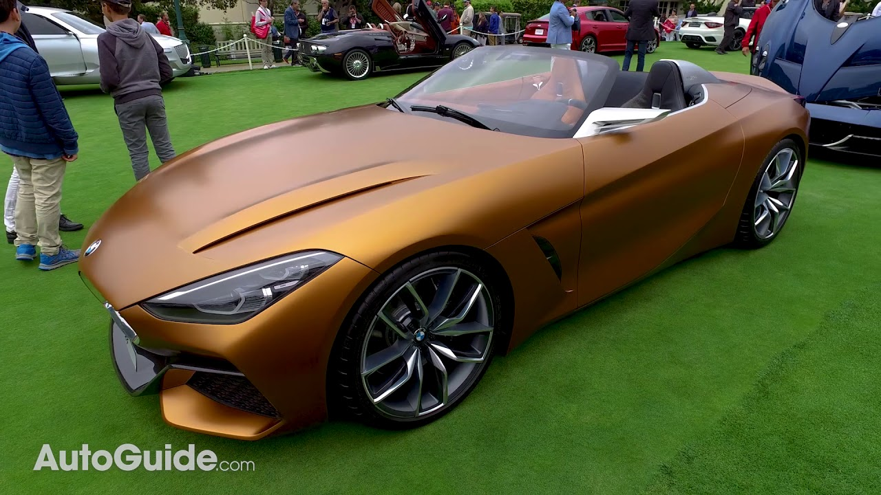 2019 BMW Z4 / Toyota Supra Concept First Look   2017 Monterey Car Week