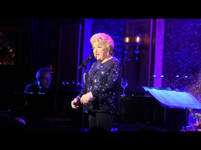 Marilyn Maye's 90th Birthday opening night 4 10 18