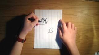 How to draw cartoon slugs