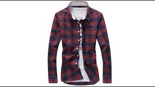 Хипстерская модная классическая клетчатая рубашка 100% хлопок
