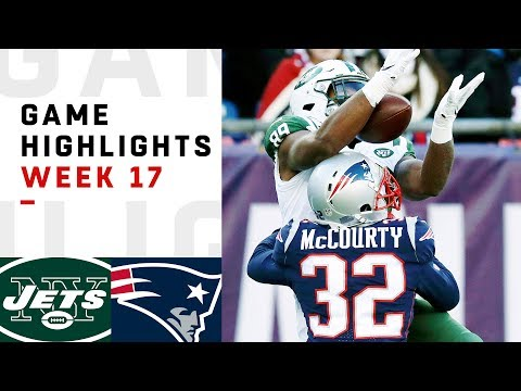 Jets vs. Patriots Week 17 Highlights | NFL 2018