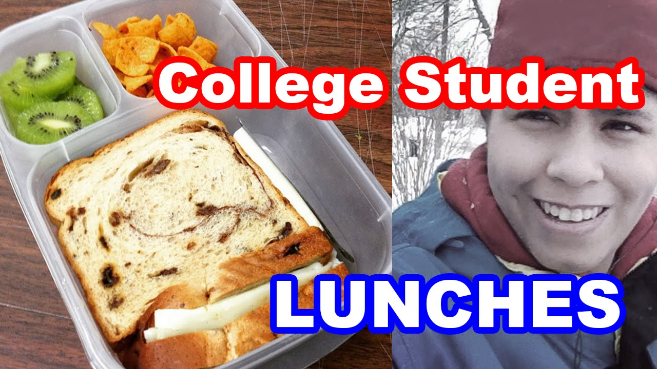 College Student Lunches Packed In EasyLunchboxes
