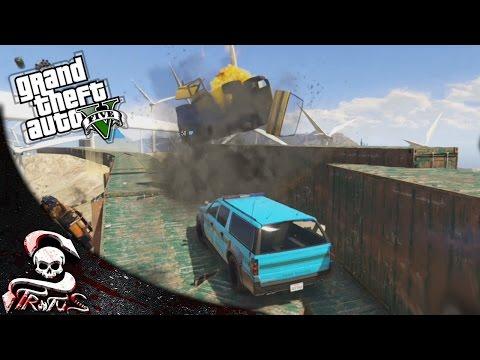 GTA 5 | LAS ASPAS DE LA MUERTE!!! - GTA V CARRERA DE LA MUERTE #405 | XxStratusxX