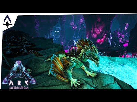 First Rock Drake! : Ep16 : Aberration Exploration : IronMine : ARK Gameplay