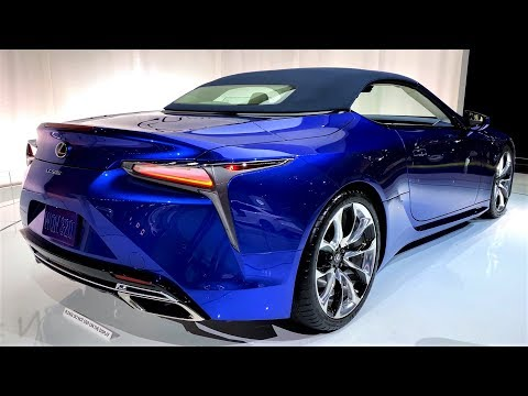NEW - 2020 LEXUS LC-500 RS Convertible - INTERIOR And EXTERIOR Full HD 60fps