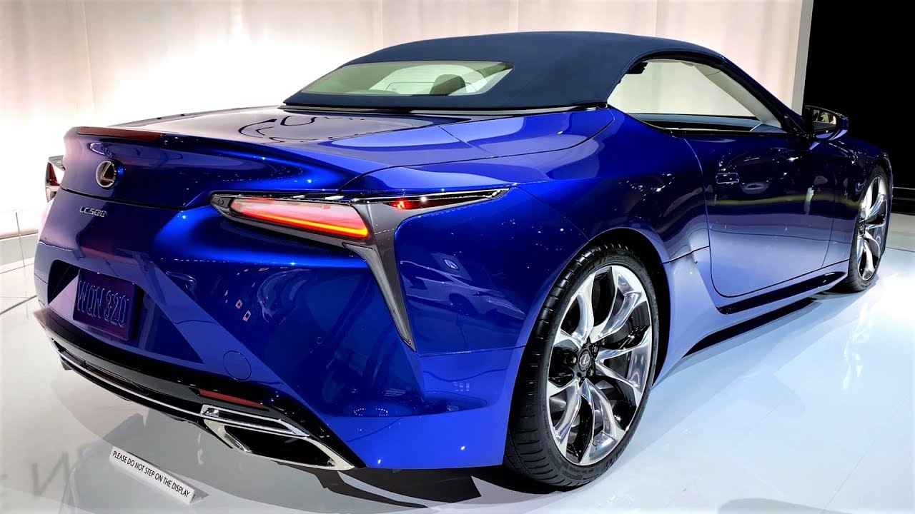 new - 2020 lexus lc-500 rs convertible - interior and